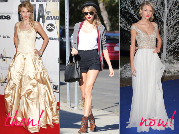 Taylor Swift Old And New Style