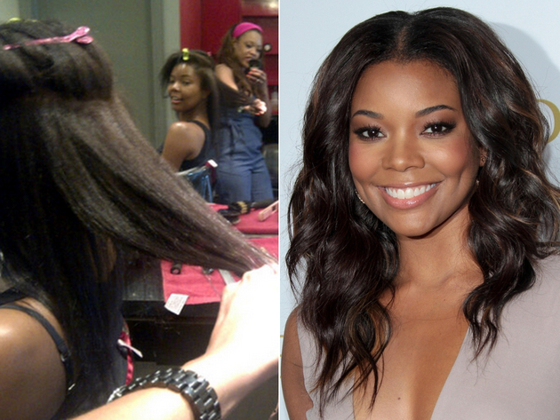 Celebrities Without Their Weaves Celebrities With