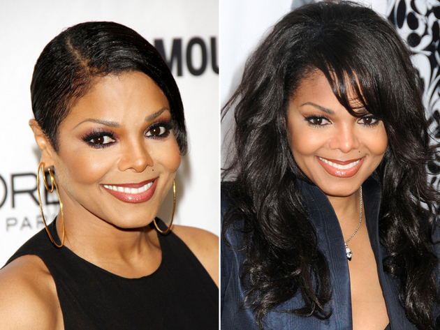 Janet Jackson Without Her Weave