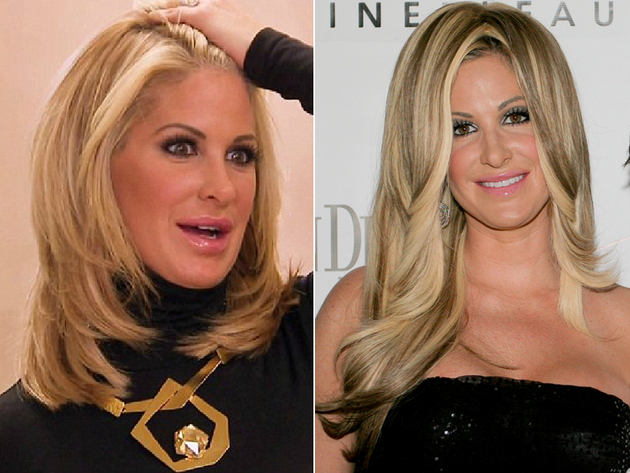 Kim Zolciak Without Her Weave
