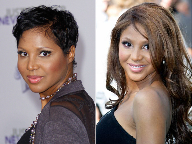 Toni Braxton Without Her Weave