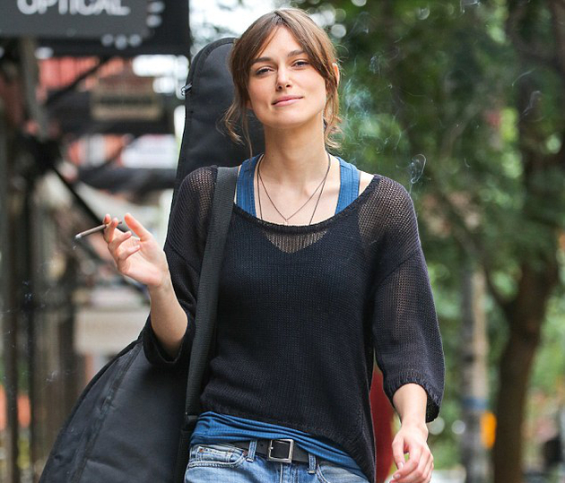 Keira Knightley Smoking