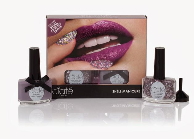 Ciate Dusty Mauve Shell Manicure Kit