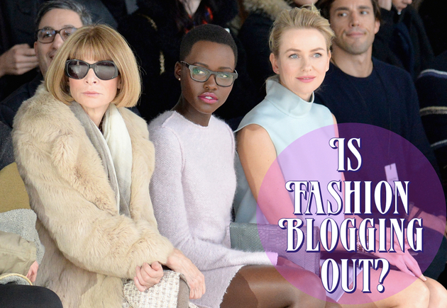 Fashion Blogging Is Out