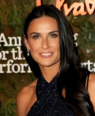 Demi Moore Long Hair