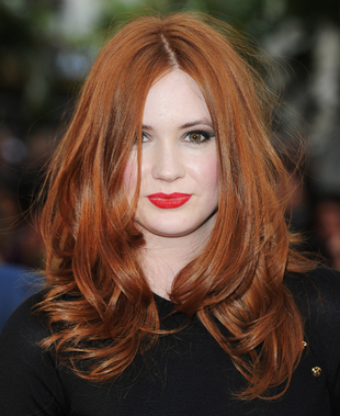Karen Gillan Long Hair
