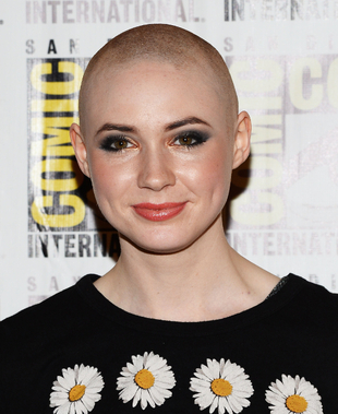 Karen Gillan Shaved Head