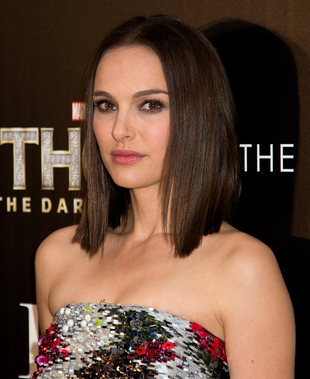 Natalie Portman Medium Hair