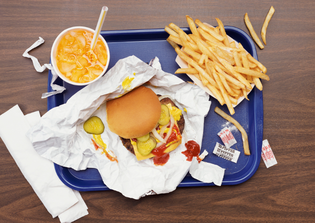 Fast Foods Cause Acne