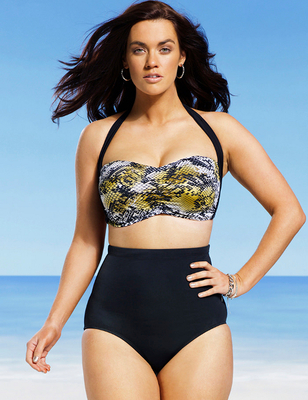 Gabi Fresh X Swimsuits For All 2014 Look  (11)