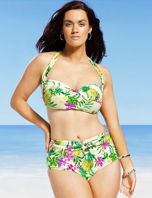 Gabi Fresh X Swimsuits For All 2014 Look  (13)