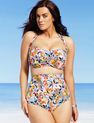 Gabi Fresh X Swimsuits For All 2014 Look  (14)