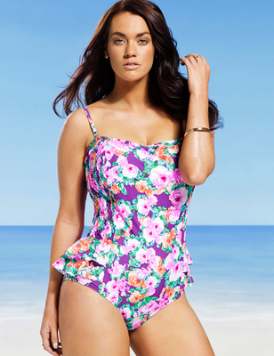 Gabi Fresh X Swimsuits For All 2014 Look  (3)