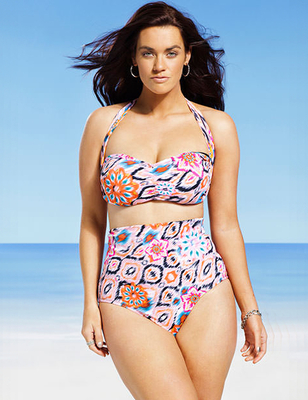 Gabi Fresh X Swimsuits For All 2014 Look  (4)