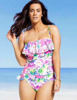 Gabi Fresh X Swimsuits For All 2014 Look  (8)