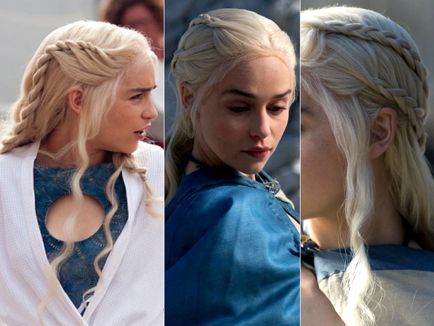 Daenerys Braid Hairstyles
