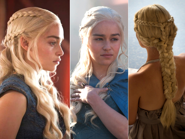 Daenerys Braided Hairstyles