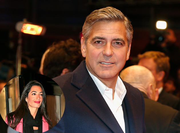 George Clooney Got Engaged