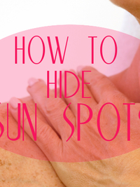 How to Hide Sun Spots