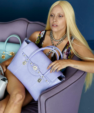 Lady Gaga Unretouched Versace Campaign Photo (1)