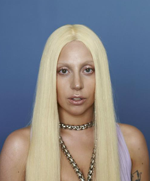 Lady Gaga Unretouched Versace Campaign Photo (8)