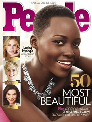 Lupita Nyongo People 2014s Most Beautiful
