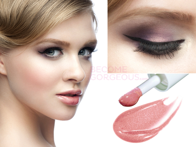 Soft Ombre Prom Makeup