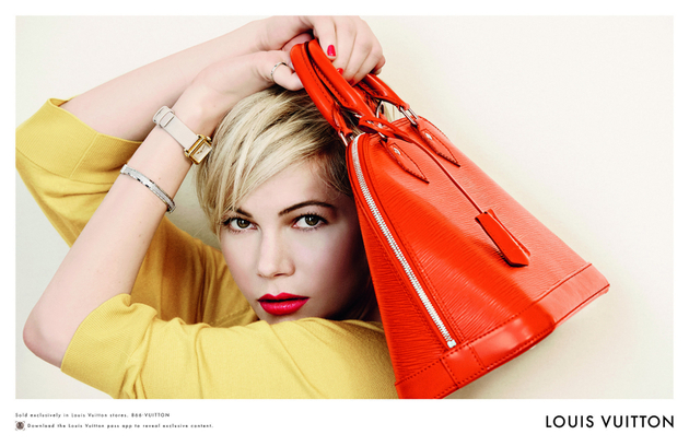 Michelle Williams Louis Vuitton Spring 2014