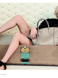 Michelle Williams for Louis Vuitton Spring 2014 Campaign