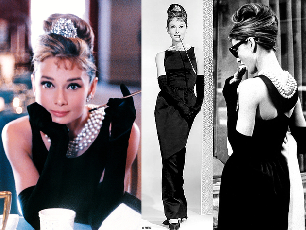 Audrey Hepburn Breakfast At Tiffanys Dress