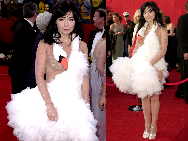 Bjork Marjan Pejoski Swan Dress