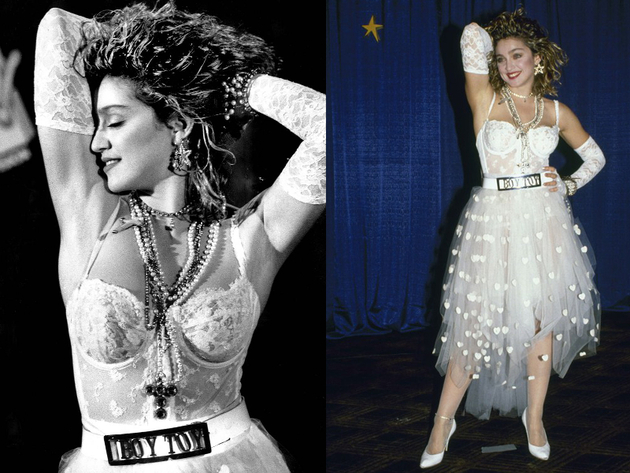 Madonna Boy Toy Wedding Dress