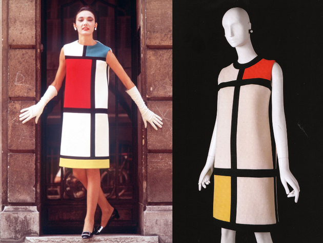 Yves Saint Laurent Mondrian Dress