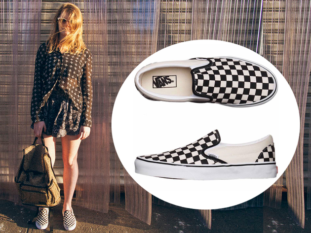 Vans Era Checkerboard Sneakers