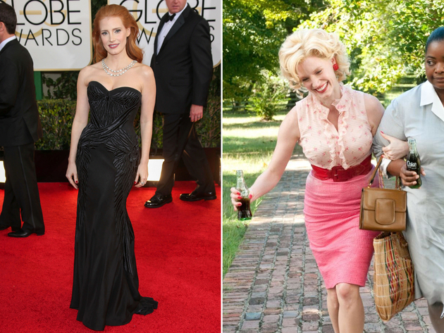 Jessica Chastain Weight Gain