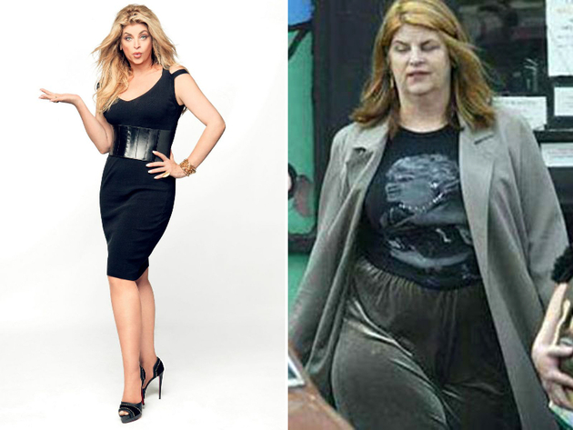 Kirstie Alley Weight Gain
