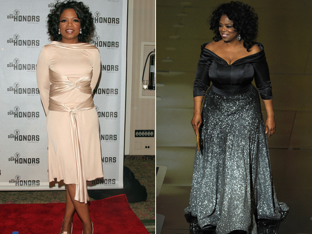 Oprah Weight Gain