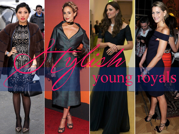 Most Stylish Young Royals