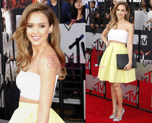 Find out which stars scored major points on the red carpet at the 2014 MTV Movie Awards and which ended up on the worst dressed list for less inspiring looks.