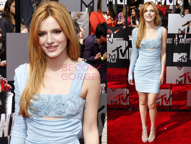 Bella Thorne 2014 Movie Awards Dress