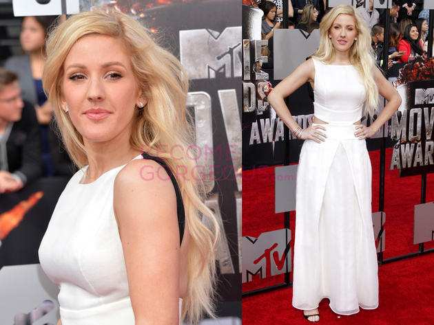 Ellie Goulding 2014 Movie Awards Dress
