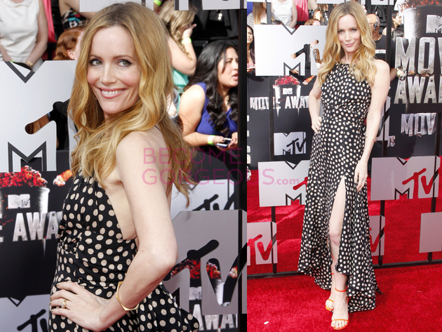 Leslie Mann 2014 Movie Awards Dress
