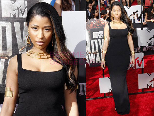 Nicki Minaj 2014 Movie Awards Dress