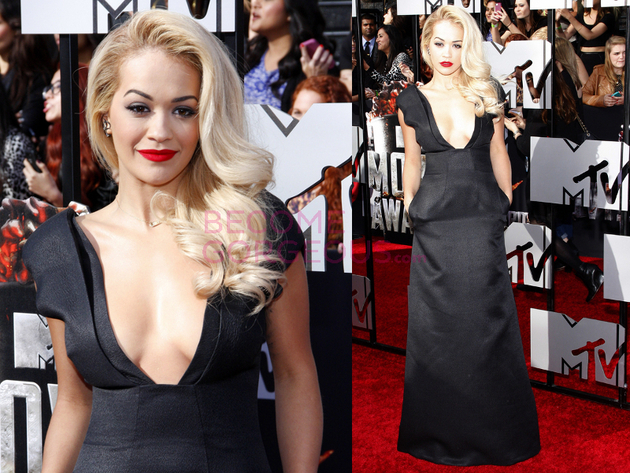 Rita Ora 2014 Movie Awards Dress