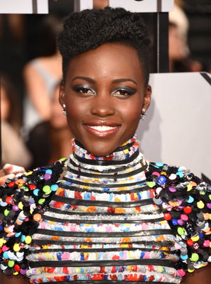 Lupita Nyong'o Mtv Movie Awards 2014 Hairstyle