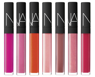 The beloved NARS lip gloss range gets updated with seven covetable shades and a new formula for summer 2014. Find out more.