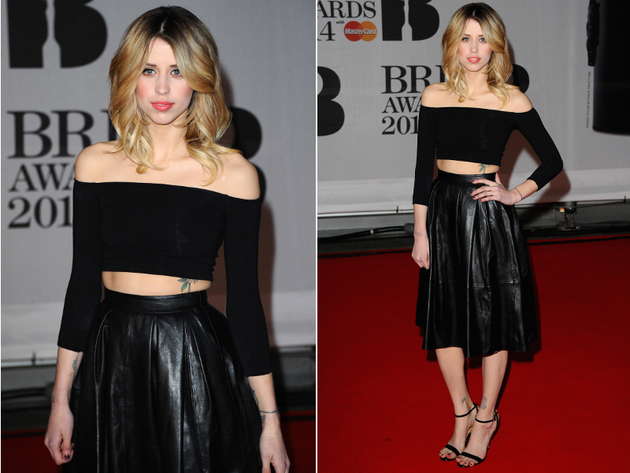 Peaches Geldof Brit Awards 2014