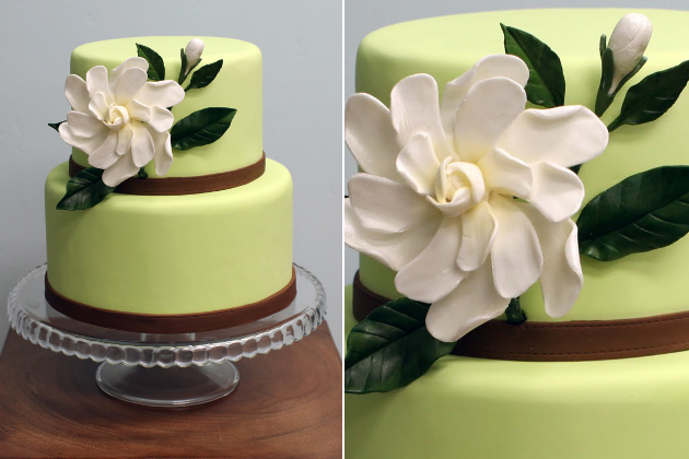 Chocolate Mint Wedding Cake