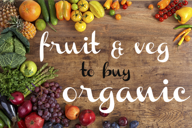 Weight Loss Fruits and Vegetables to Buy Organic