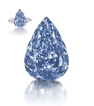 The Blue Worlds Largest Vivd Blue Diamond